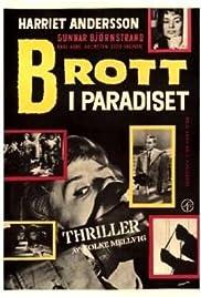 Brott i paradiset Poster