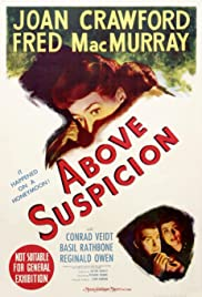 Above Suspicion (1943) Poster - Movie Forum, Cast, Reviews