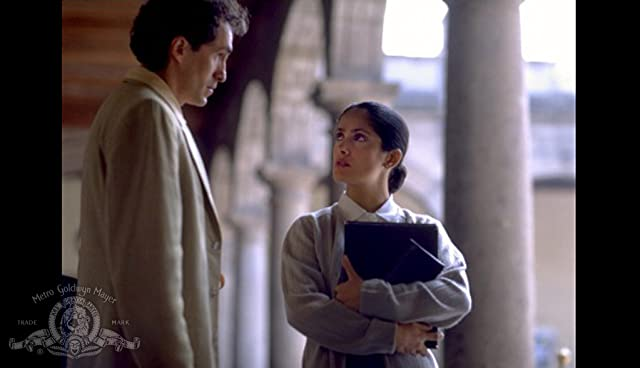 Salma Hayek and Demián Bichir in In the Time of the Butterflies (2001)