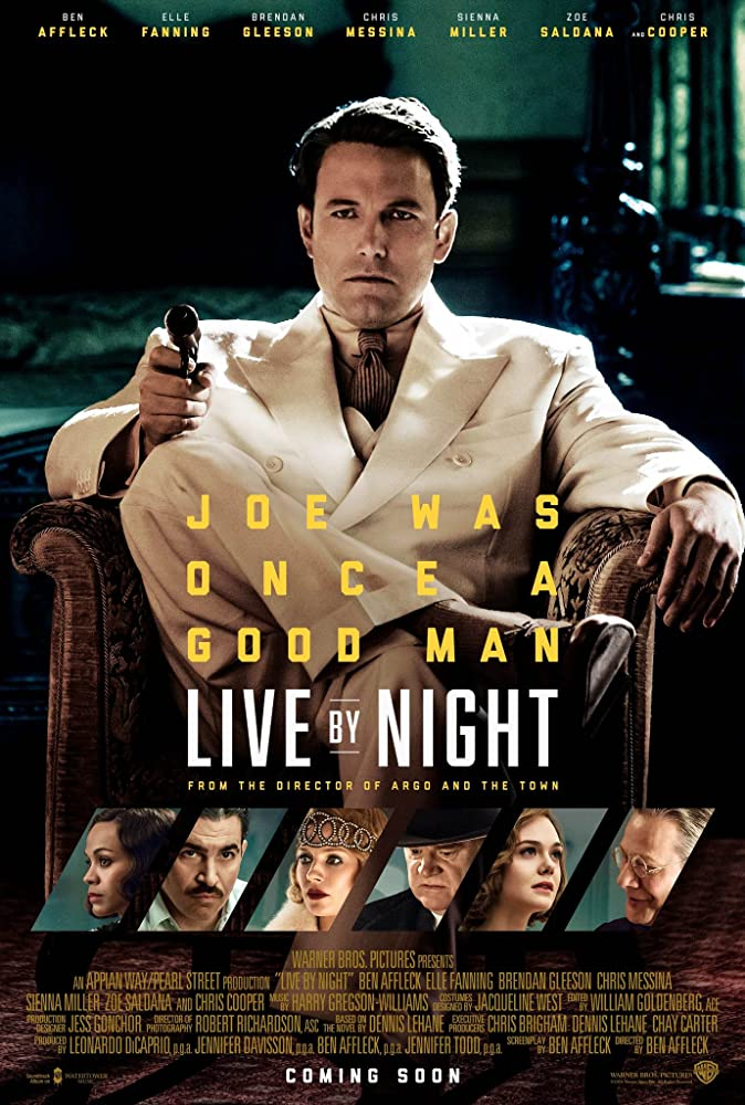 Live by Night Affiche du film