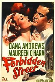 The Forbidden Street(1949) Poster - Movie Forum, Cast, Reviews