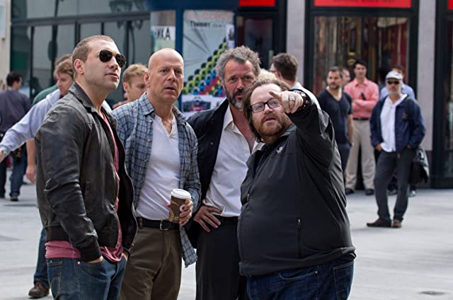 Bruce Willis, Sebastian Koch, John Moore, and Jai Courtney in A Good Day to Die Hard (2013)