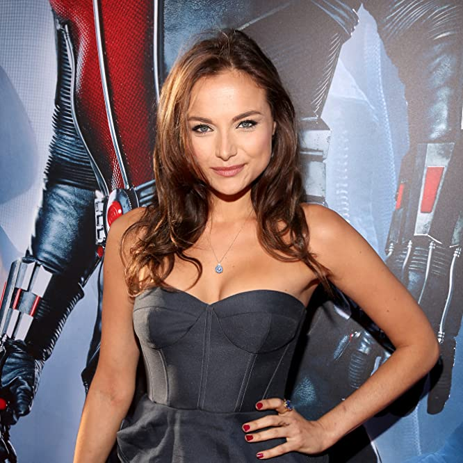 Christina Ochoa at an event for Ant-Man (2015)