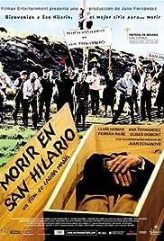 Morir en San Hilario Poster
