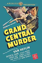Grand Central Murder (1942) Poster - Movie Forum, Cast, Reviews