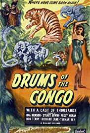 Drums of the Congo Poster