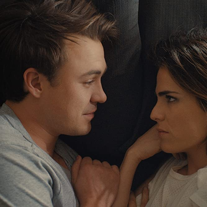 Karla Souza and Ben O'Toole in Everybody Loves Somebody (2017)
