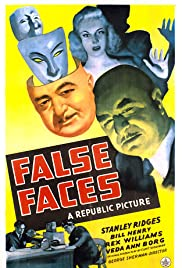False Faces Poster