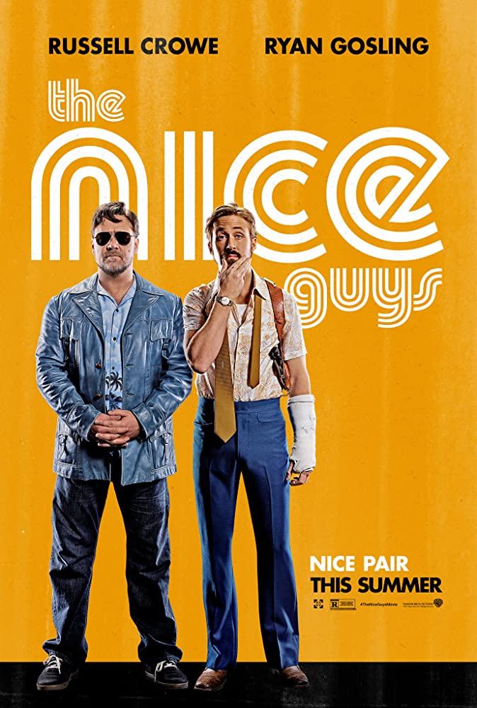 The Nice Guys cartel de la película