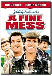 A Fine Mess Poster