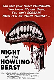 Night of the Howling Beast Poster