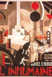 L'inhumaine(1924) Poster - Movie Forum, Cast, Reviews