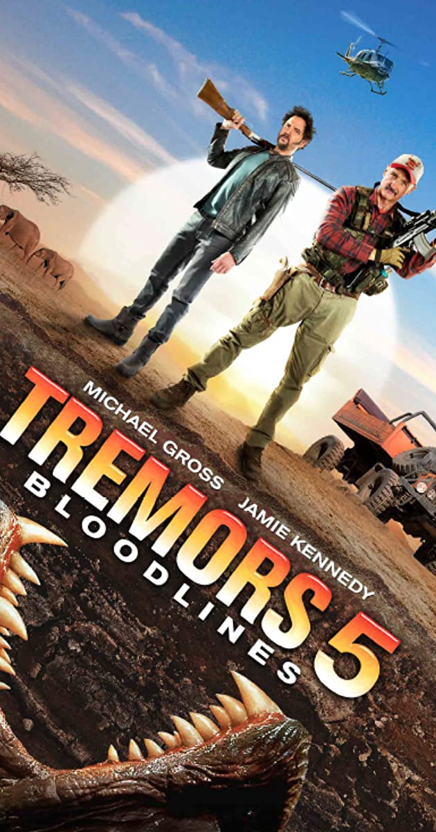 Tremors 5- Bloodlines | Lasers, monsters and barbarians oh, my!