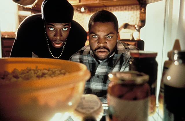 Chris Tucker and Ice Cube in Friday (1995)