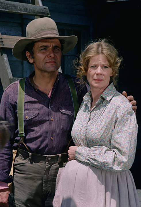 Michael Pataki and Collin Wilcox Paxton in Little House on the Prairie (1974)