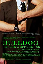 Bulldog in the White House Poster