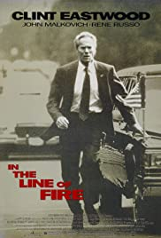 In the Line of Fire (1993) Poster - Movie Forum, Cast, Reviews