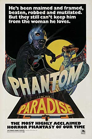 Phantom of the Paradise poster