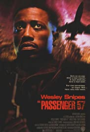 Passenger 57 (1992) Poster - Movie Forum, Cast, Reviews