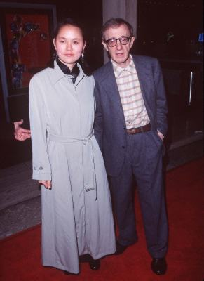 Woody Allen and Soon-Yi Previn at Deconstructing Harry (1997)