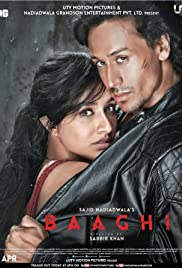 Baaghi (2016) Poster - Movie Forum, Cast, Reviews