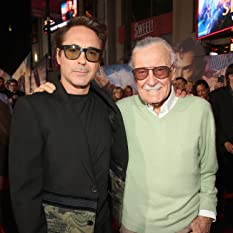 Stan Lee and Robert Downey