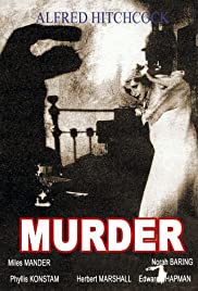 Murder! Poster