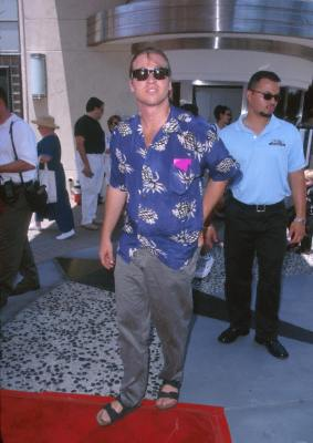 Val Kilmer at an event for Muppets from Space (1999)