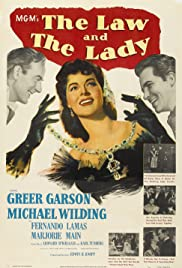 The Law and the Lady (1951) Poster - Movie Forum, Cast, Reviews