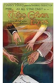 Three Green Eyes Poster