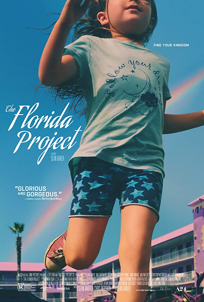 Brooklynn Prince in The Florida Project (2017)