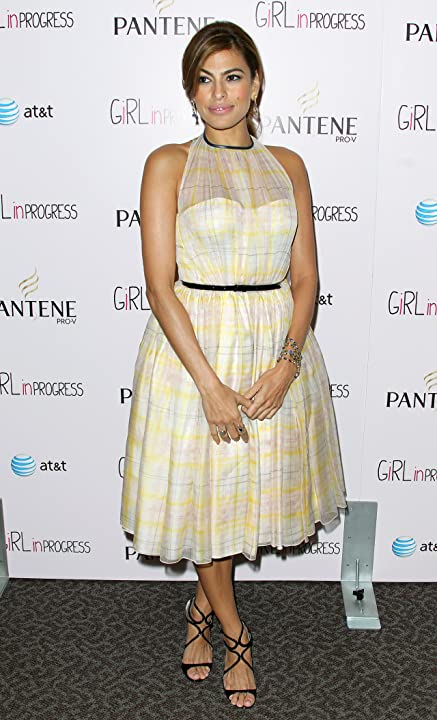 Eva Mendes at an event for Girl in Progress (2012)