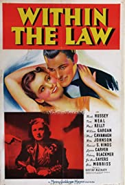 Within the Law(1939) Poster - Movie Forum, Cast, Reviews
