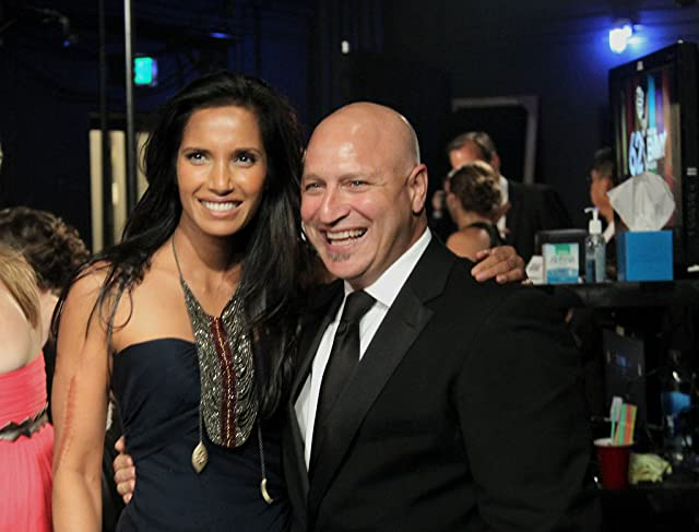 Padma Lakshmi and Tom Colicchio
