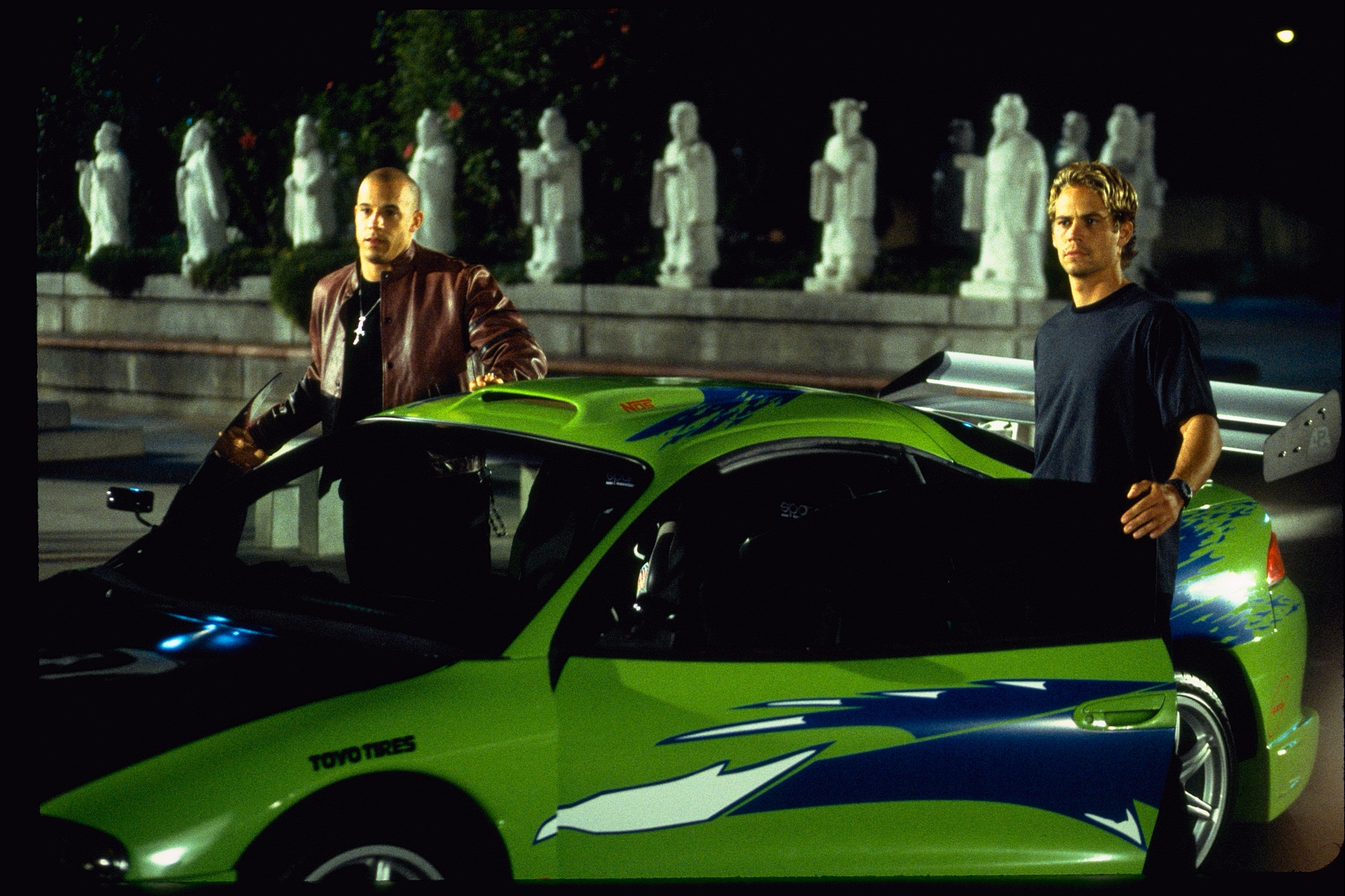 and paul walker in the fast and the furious 2001 click to expand. Black Bedroom Furniture Sets. Home Design Ideas