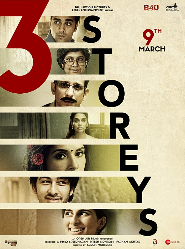 3 Storeys 2018 Full Movie Hindi 300MB Pre-DVDRip 480p x264