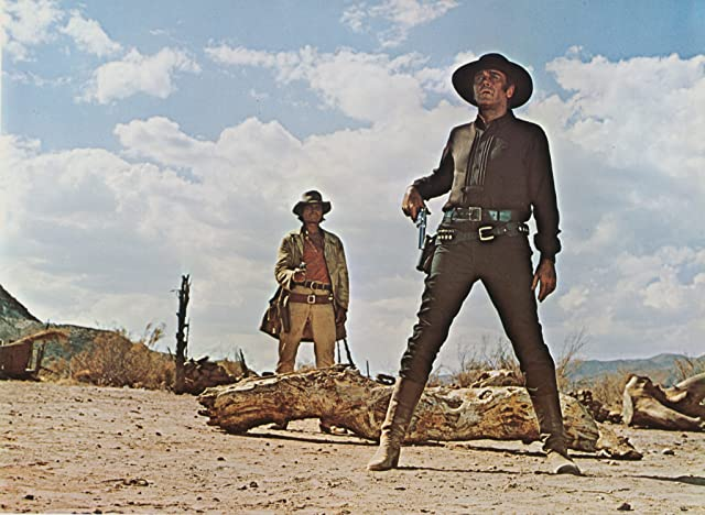 Henry Fonda and Charles Bronson in Once Upon a Time in the West (1968)