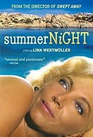 Notte d'estate con profilo greco, occhi a mandorla e odore di basilico Poster