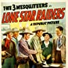 Rufe Davis, George Douglas, Robert Livingston, John Merton, Sarah Padden, and Bob Steele in Lone Star Raiders (1940)