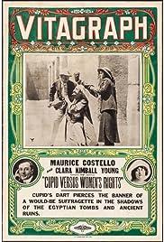 Cupid Versus Women's Rights Poster