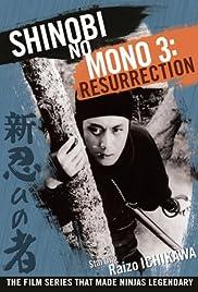 Shinobi No Mono 3: Resurrection Poster
