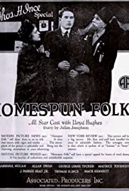 Homespun Folks Poster