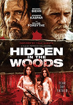 Hidden in the Woods Pelicula Poster