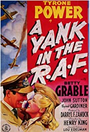 A Yank in the R.A.F. (1941) Poster - Movie Forum, Cast, Reviews