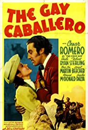 The Gay Caballero Poster