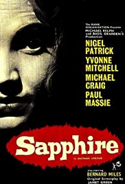 Sapphire(1959) Poster - Movie Forum, Cast, Reviews