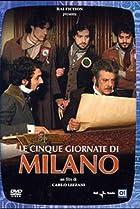 Image of Le cinque giornate di Milano