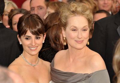 Meryl Streep and Penélope Cruz