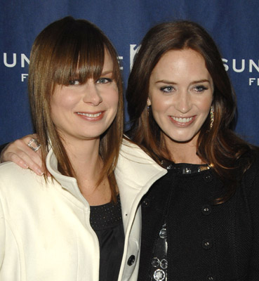 Mary Lynn Rajskub and Emily Blunt at an event for Sunshine Cleaning (2008)