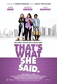 That's What She Said Poster